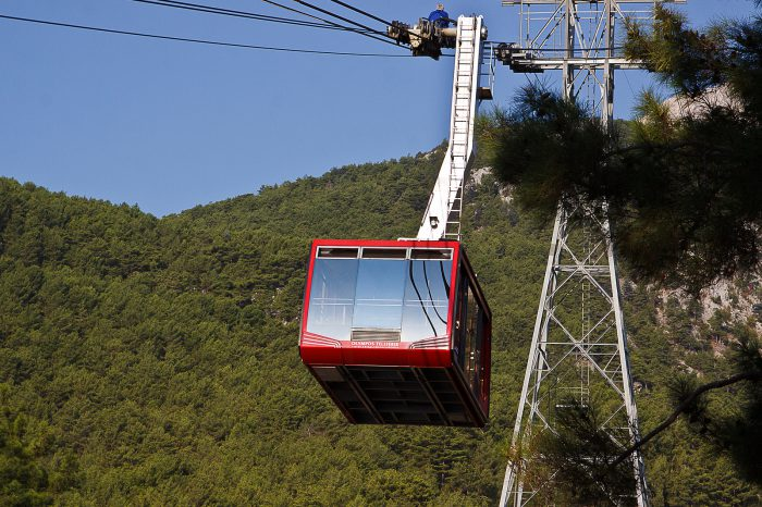 Olympos Cable Car Tour