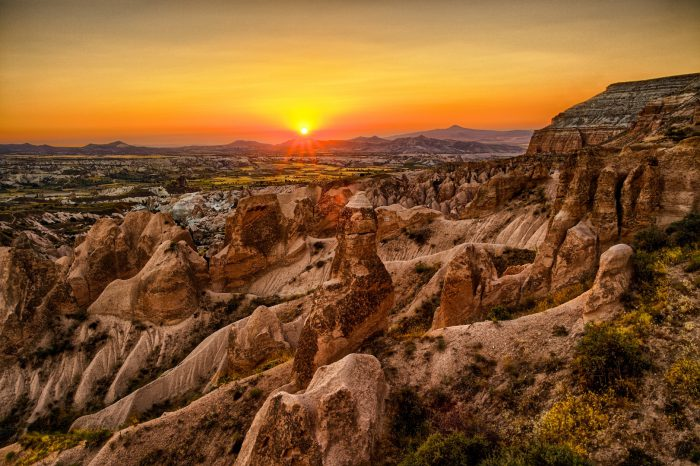 3 Nights 4 Days Cappadocia Tour from Antalya – by Bus