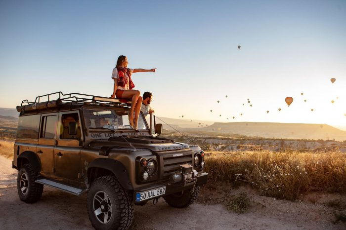 4×4 Jeep Safari Tour in Cappadocia