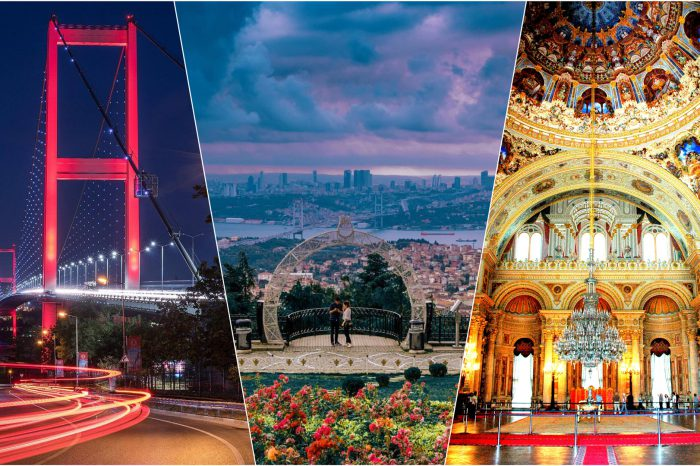 Bosphorus Bridge, Camlica Hill, and Dolmabahce Palace Tour