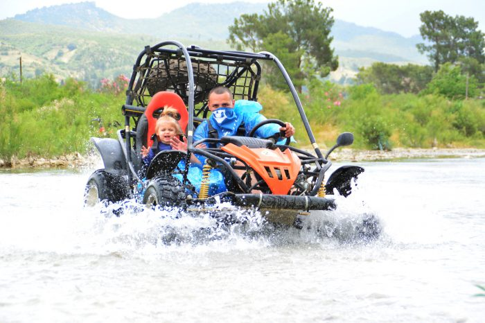 Buggy Safari and Rafting Tour
