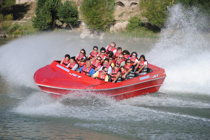 Jet Boat Tour at Red River