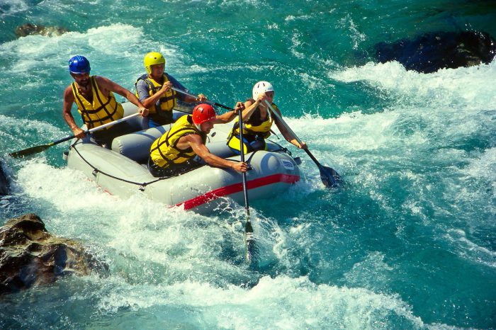 Off-Road and Rafting Tour