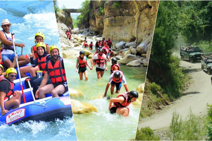 Rafting, Canyoning, and Jeep Safari (Combo) Tour