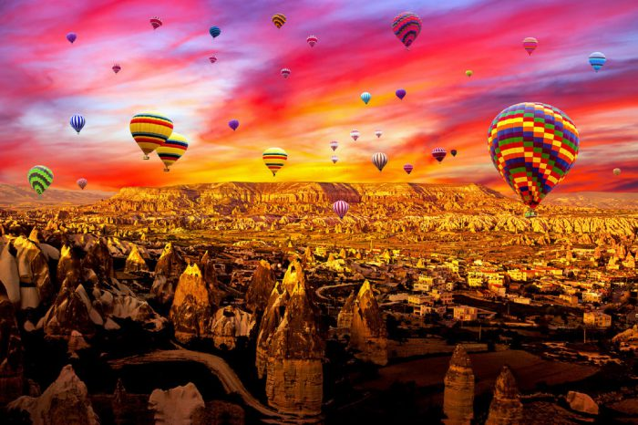 Standard Class Cappadocia Hot Air Balloon Flight