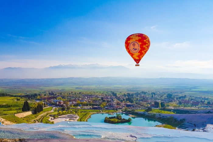Standard Class Pamukkale Hot Air Balloon Flight